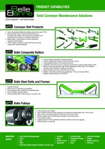 Belle Banne Conveyor Products Product Capabilities 2015_16_Page_1