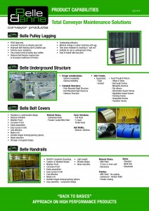 Belle Banne Conveyor Products Product Capabilities 2015_16_Page_2