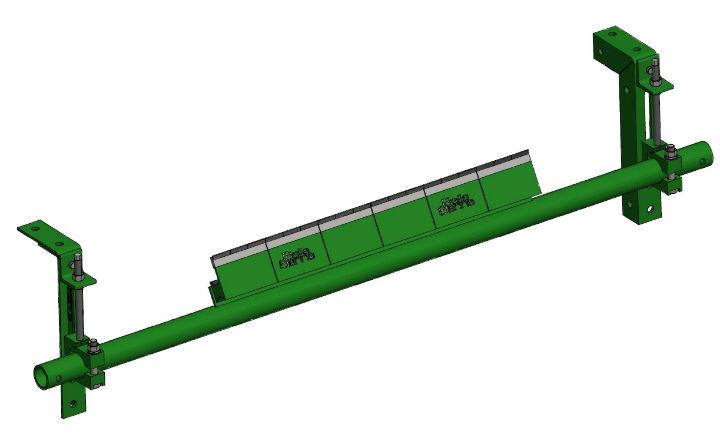 P secondary belt cleaner