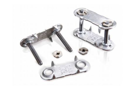 Plategrip solid plate fastener